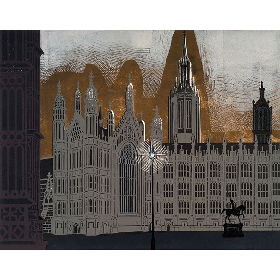 Palace of Westminster By Edward Bawden