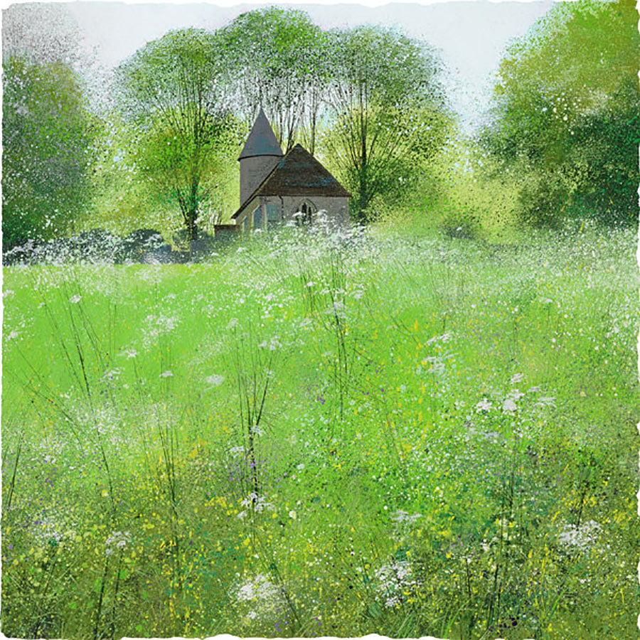 Quiet Meadow By Paul Evans