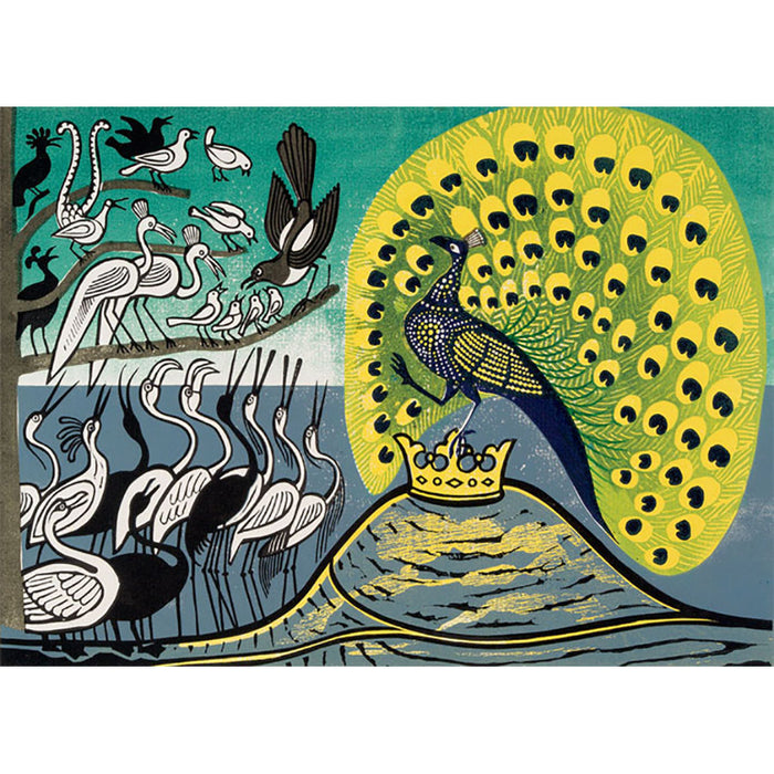 Peacock and Magpie By Edward Bawden