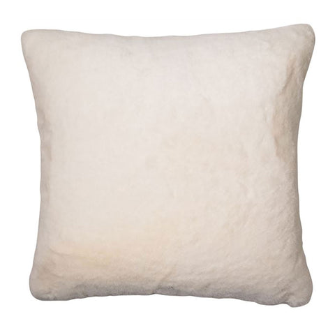 White Polar Faux Fur Cushion