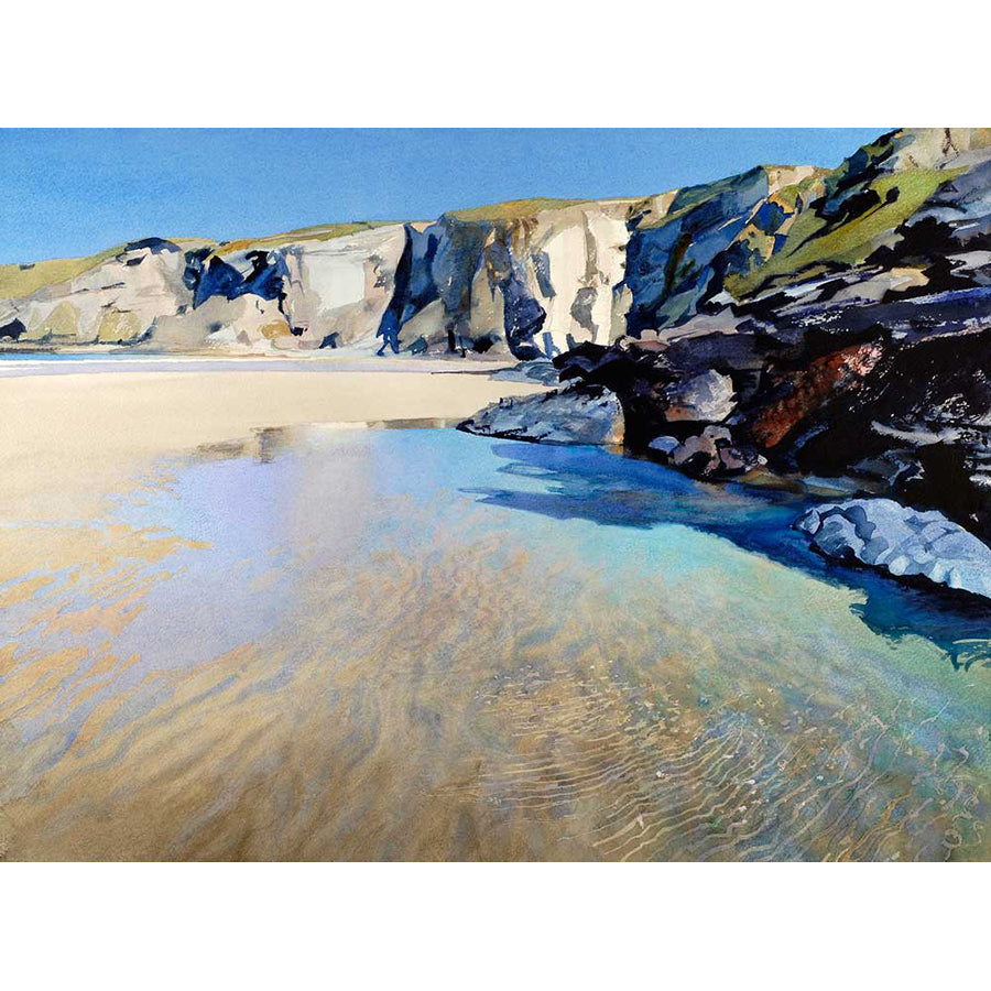 Pool at Low Tide By Bob Rudd