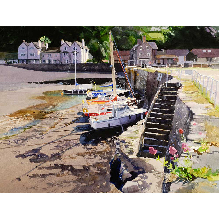 Porlock Weir By Bob Rudd