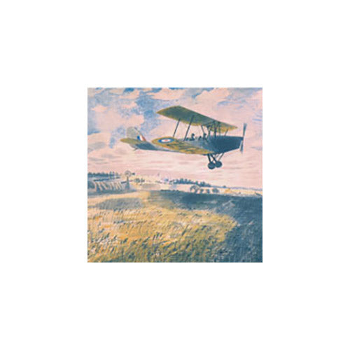 Elementary Flying Training School By Eric Ravilious Greeting Card