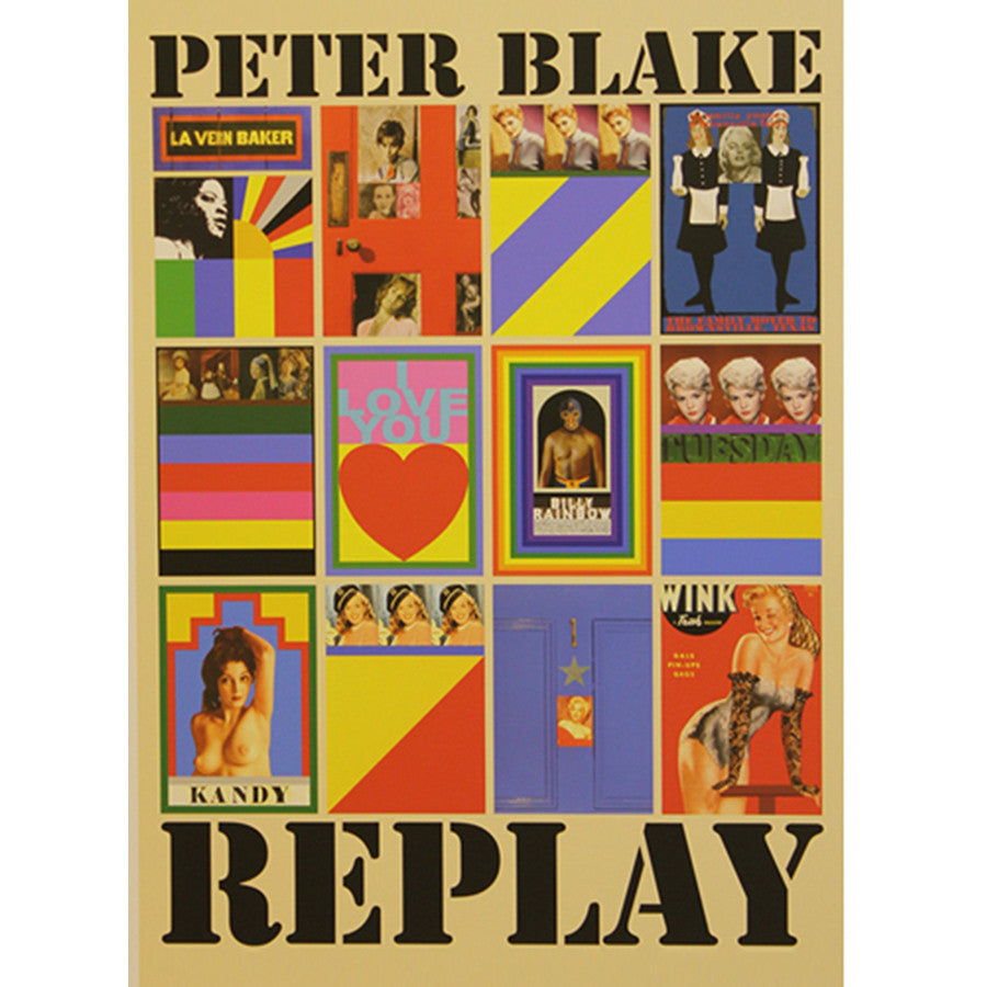 Replay Box Set By Sir Peter Blake
