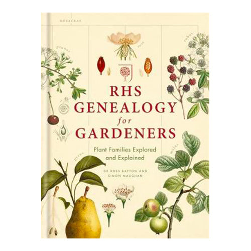 RHS Genealogy for Gardeners: Plant Families Explored & Explained (Hardback)