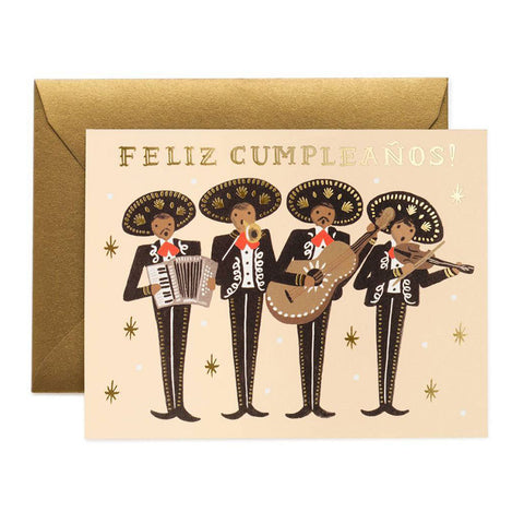 Mariachi Birthday Greeting Card