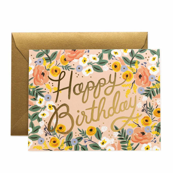 Roso Birthday Greeting Card