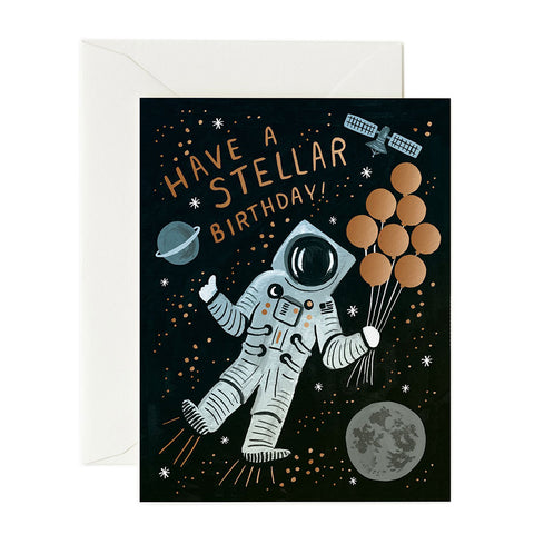 Have A Stellar Birthday Greeting Card