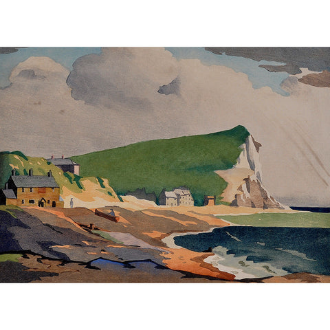 Seaford Head 1930 By Eric Slater