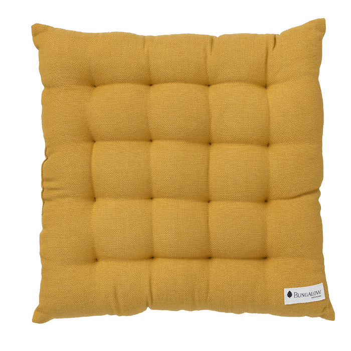 Golden Yellow Seat Cushion Pad