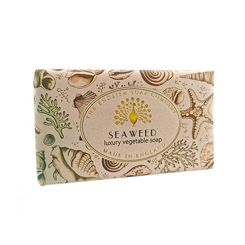 Seaweed Vintage Wrapped Soap Bar