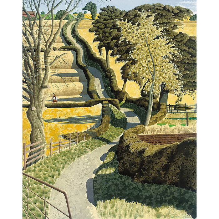 Drawing Across The Ochre By Simon Palmer