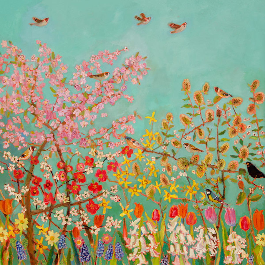 Spring Chorus By Vanessa Cooper