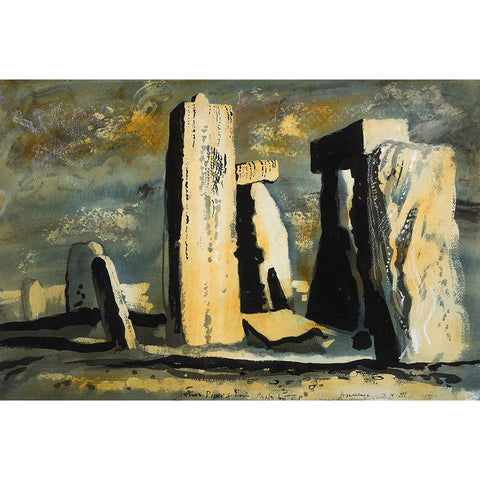 Stonehenge By John Piper