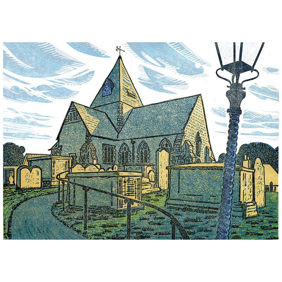 St Margret's Church, Ditchling By Bernard Lodge