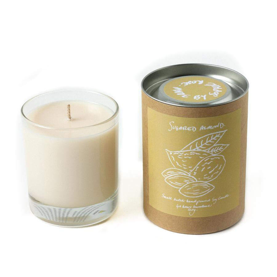 Sugared Almond Scented Candle