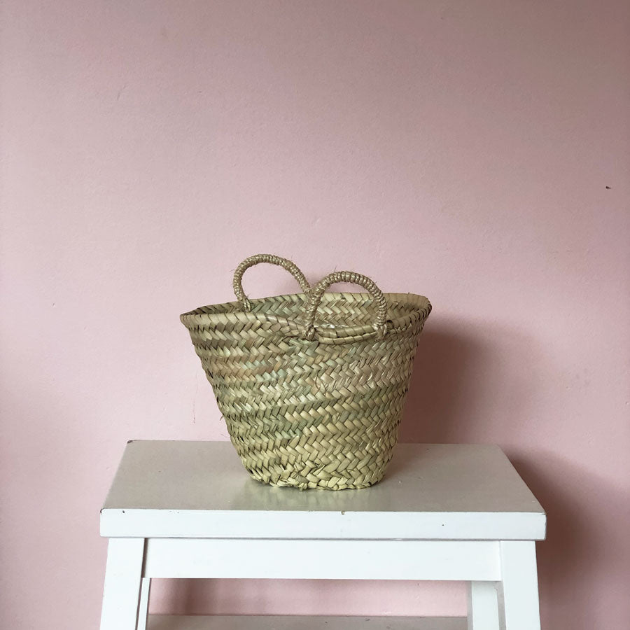 Madeline Hand Woven Basket in Mini