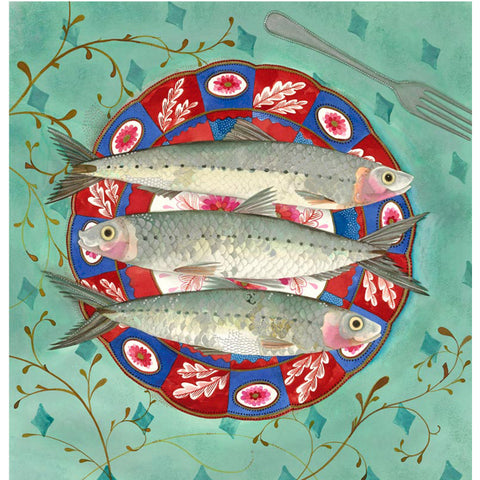 Three Little Fishes By Jane Ray