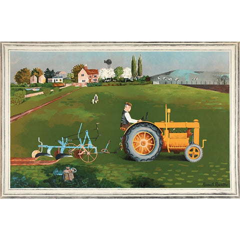 Tractor | School Prints By Kenneth Rowntree