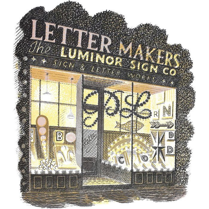 High Street Series | Letter Maker By Eric Ravilious