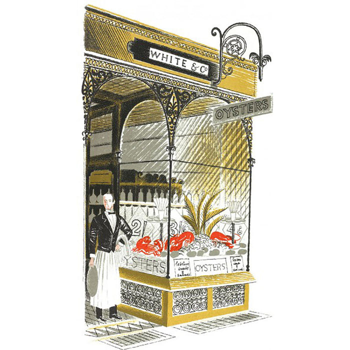 High Street Series | Oyster Bar By Eric Ravilious
