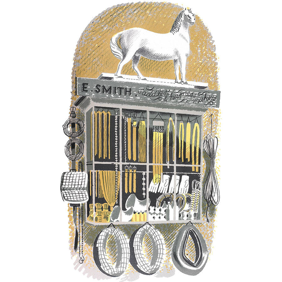 High Street Series | Saddlers And Harness Makers By Eric Ravilious