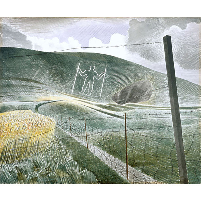 Wilmington Giant By Eric Ravilious