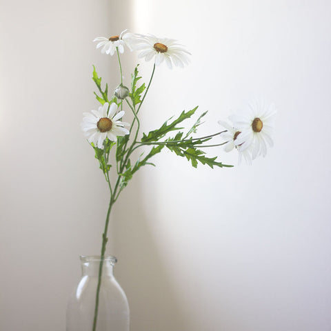 Faux Large Daisy Stem