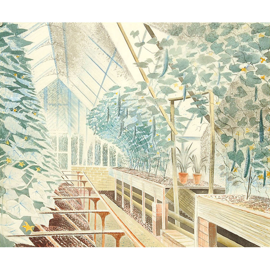 Cucumber House By Eric Ravilious