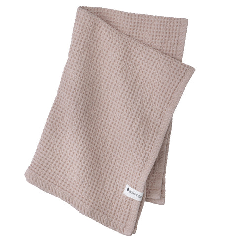 Waffle Blush Pink Cotton Cloths x2