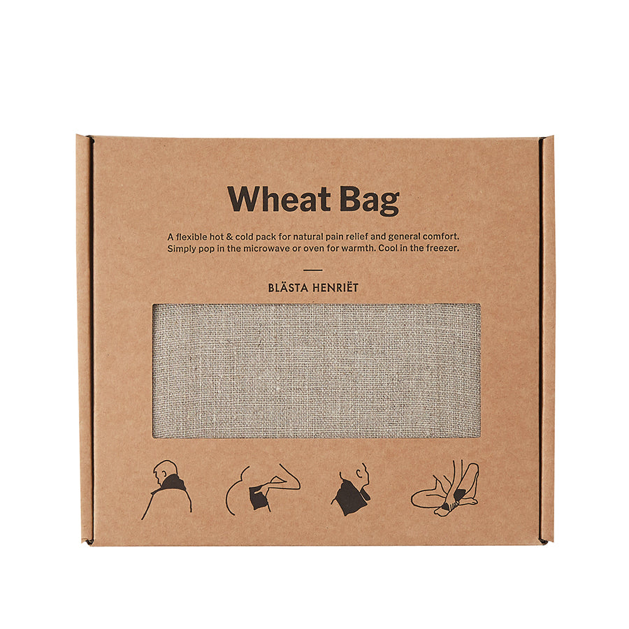 Linen Wheat Bag