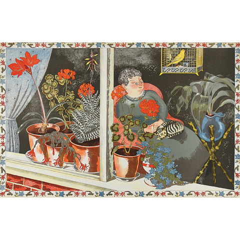 Window Plants | School Prints By John Nash