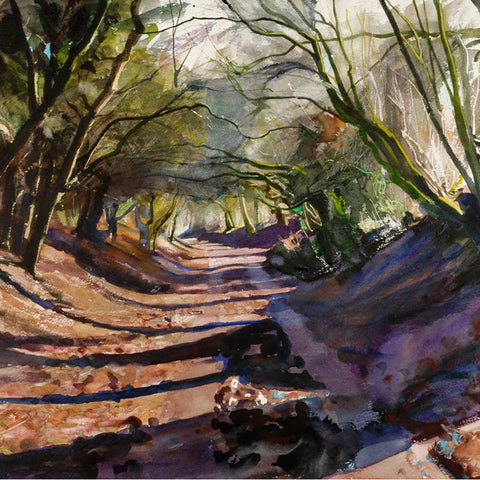 Winter Lane By Bob Rudd