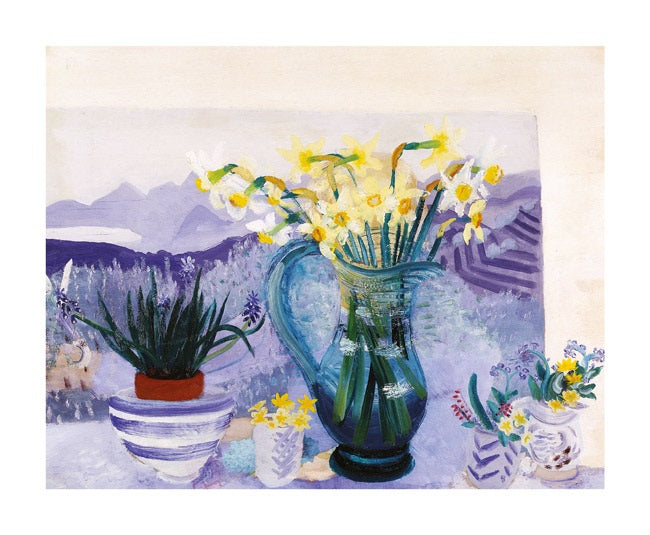 Recollections by Winifred Nicholson Greeting Card