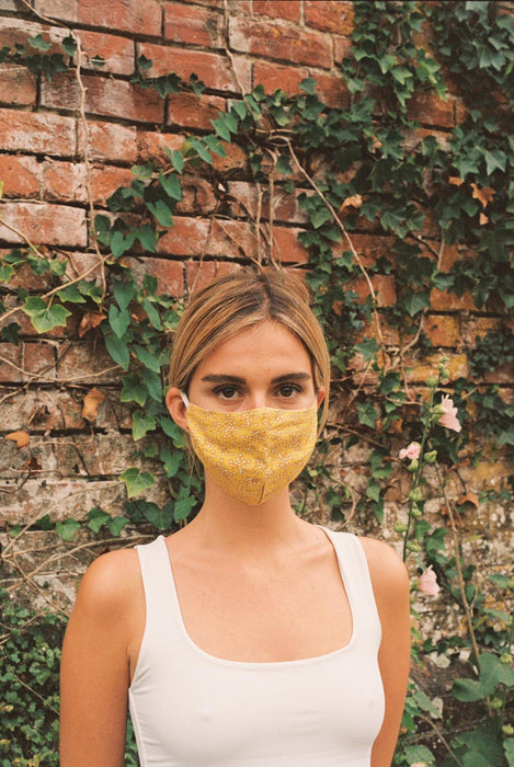 Cotton Face Mask | Mimosa