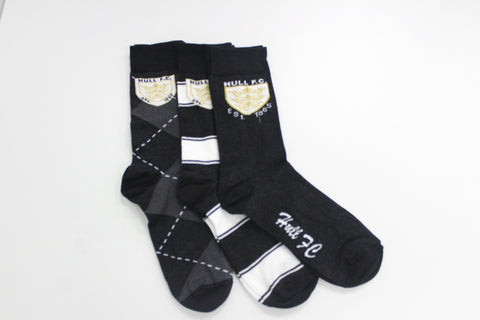 Luxury Boxed 3 Pack Socks