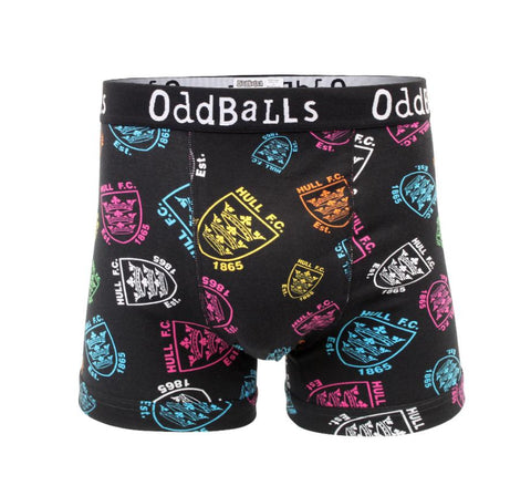 Mens Black Oddball Boxers
