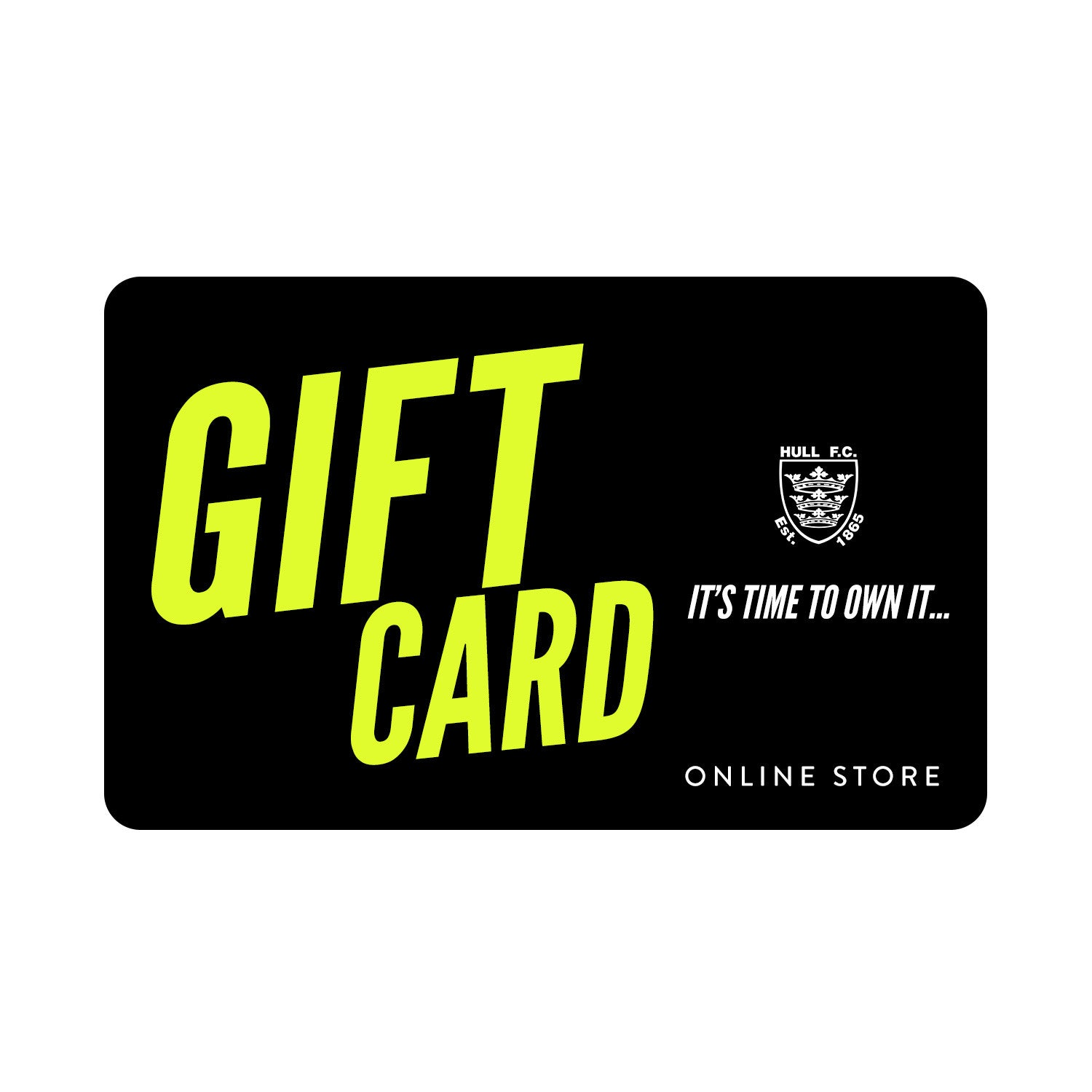 Gift Cards Hull FC Shop
