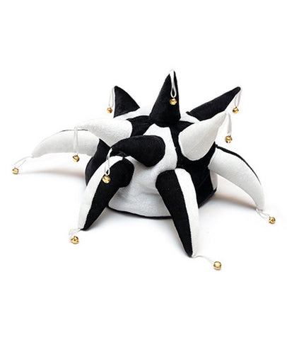 Black and White Jester Hat
