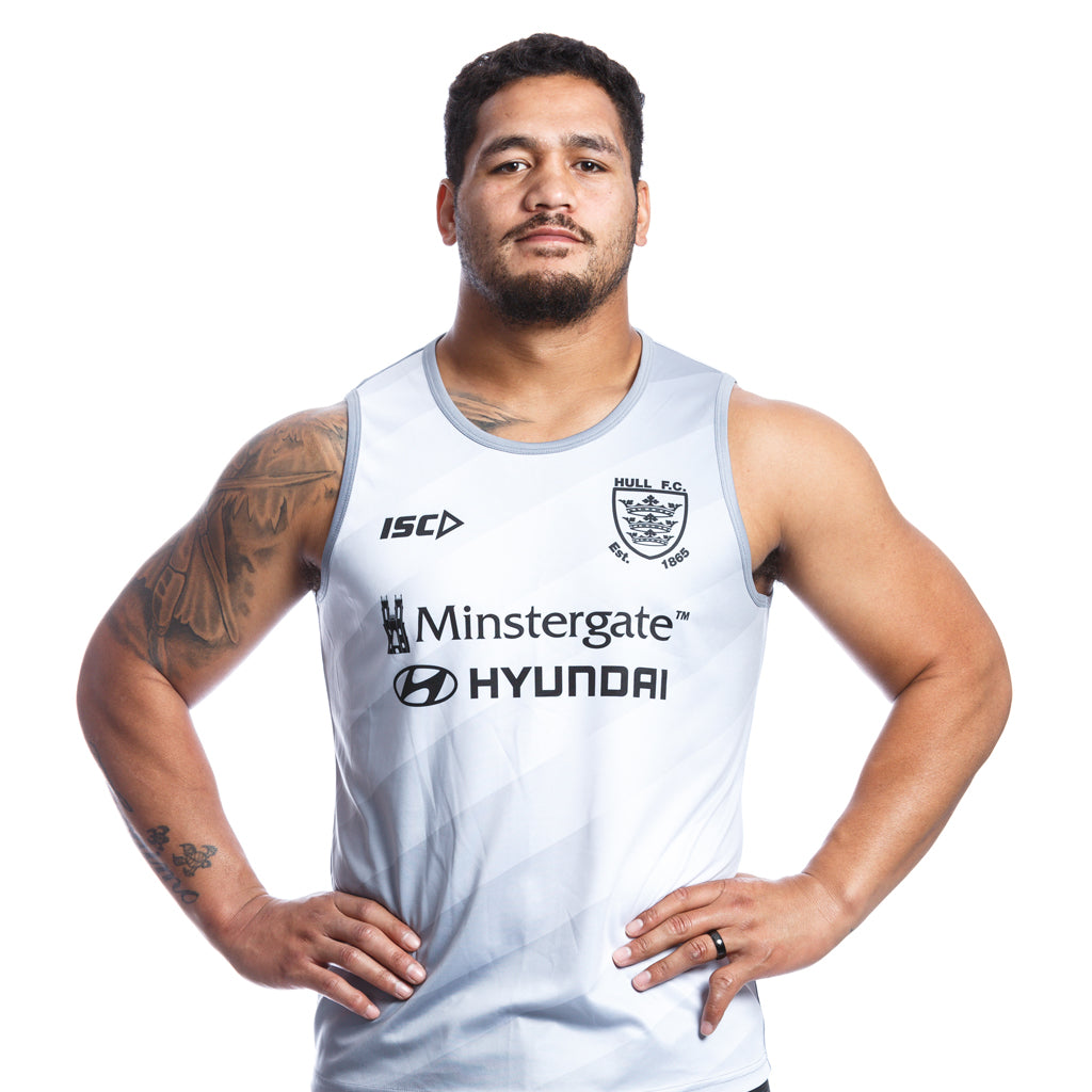 2020 Adults Cool Grey Singlet