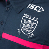 2020 Adults Navy & Pink Performance polo