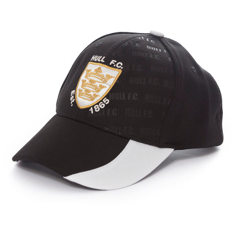 Hull FC Black & White Cap
