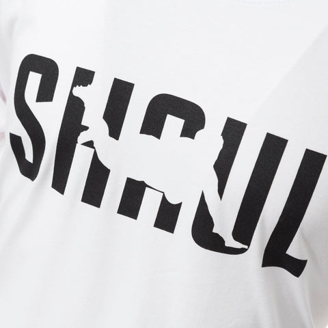 Kids White Block Shaul Tee