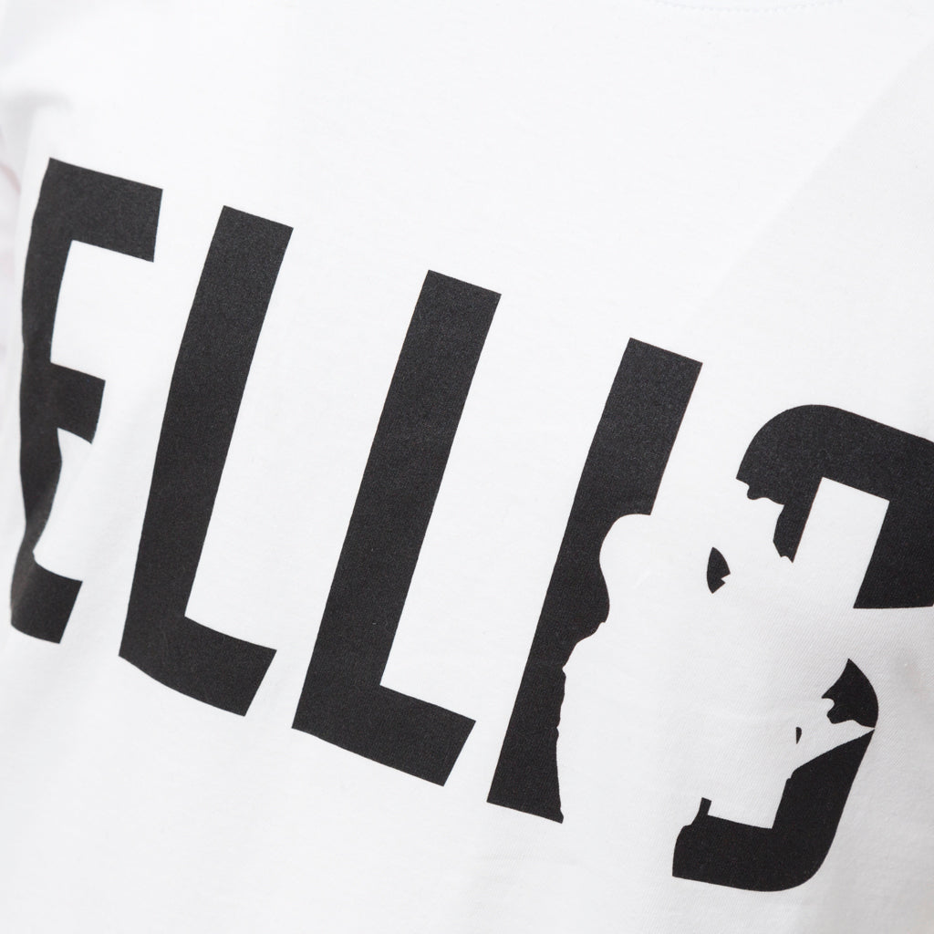 Kids White Block Ellis Tee