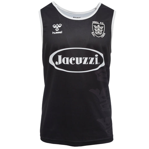 Kids Elite Singlet Black