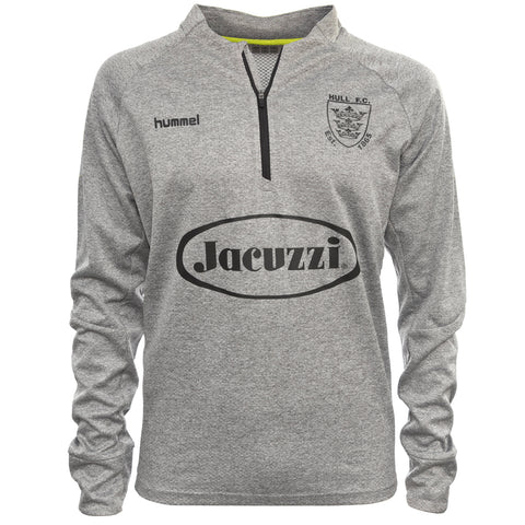 Tech Move 1/2 Zip Grey