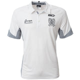 2020 Adults White Performance polo