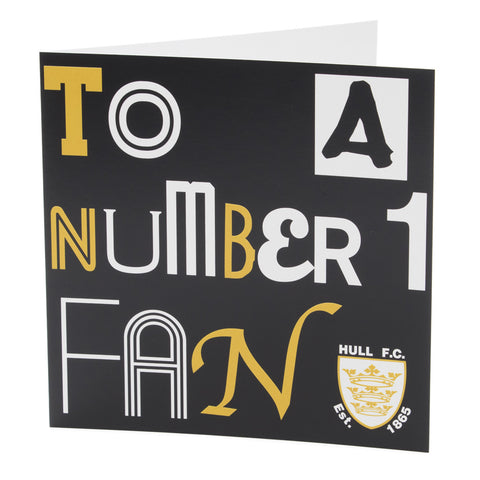 To A Number 1 Fan
