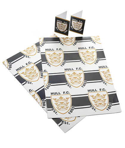 Hull FC Gift Wrap and Tags