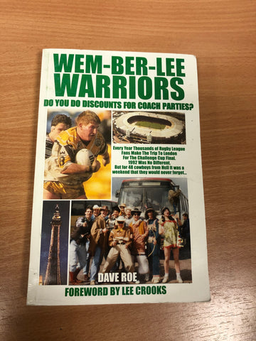 Wemberlee Warriors Book